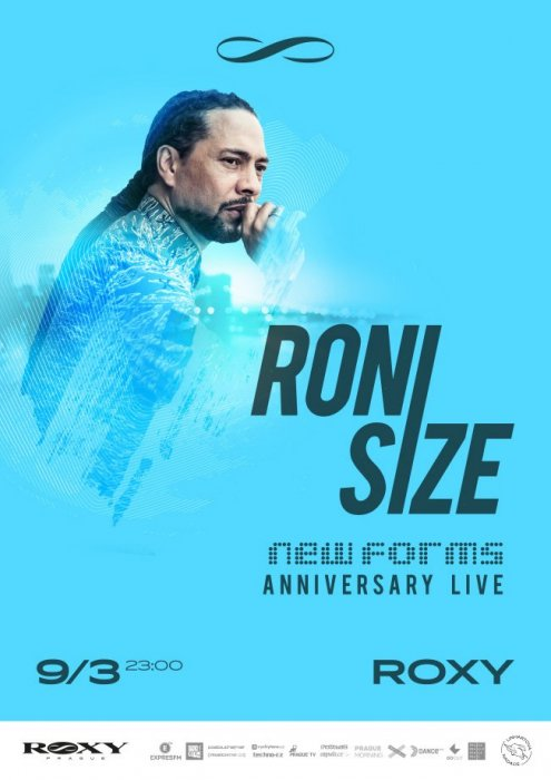 DnB legenda Roni Size oživí v ROXY New Forms Live