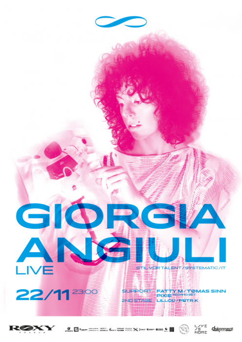Giorgia Angiuli brings full techno to Prague