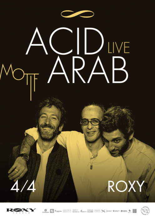 Acid Arab will bring their oriental electronica to Prague for the first time