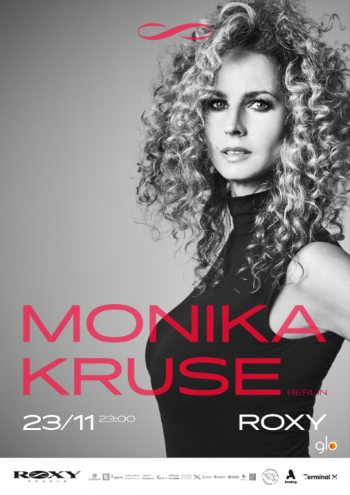 Queen of techno Monika Kruse is coming to ROXY